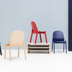 """Krzesła z serii """"Nordic"""" firmy Noti. Fot. Noti"""