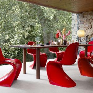 """Krzesła """"Pantone"""" firmy Vitra. Fot. Vitra"""