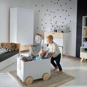 Kolekcja mebli dziecięcych Hoppa marki Bellamy. Fot. Husarska Design Studio