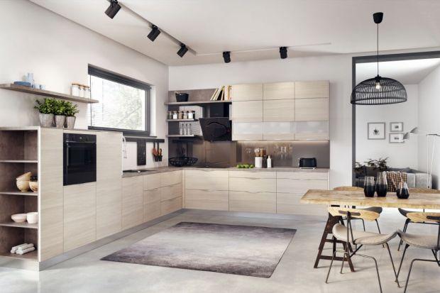 Meble kuchenne - zabudowy z otwartymi półkami
