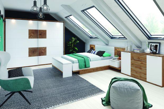 Sypialnia jest miejscem, które ma zapewniać przede wszystkim komfortowy, niczym nie zmącony odpoczynek. Stąd przewaga stonowanych kolorów i spokojnych form. Jednak są wśród nas zwolennicy bardziej odważnych rozwiązań i właśnie dla nich propon