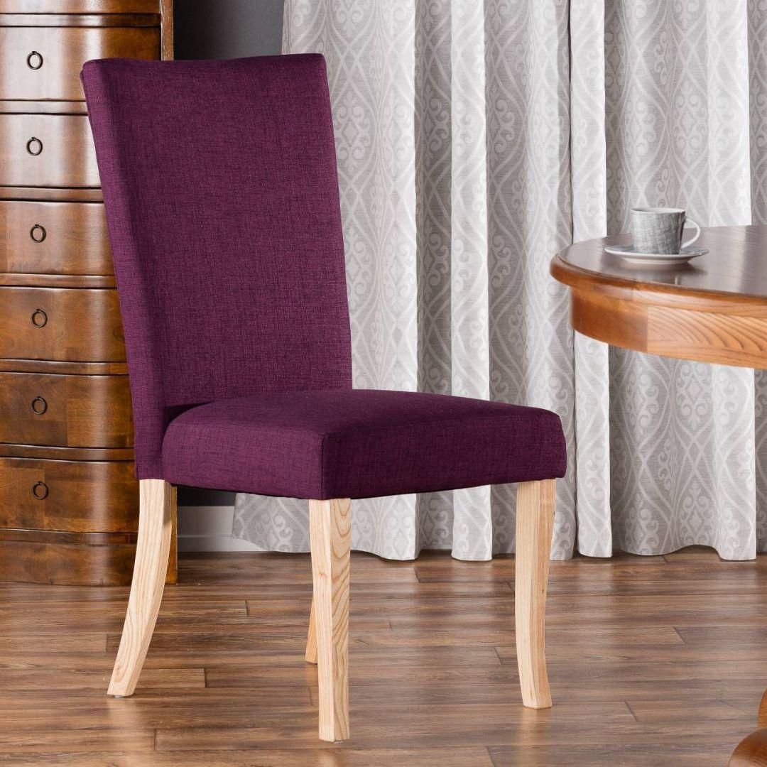 Krzesło Andrea Violet. Fot. Dekoria.pl