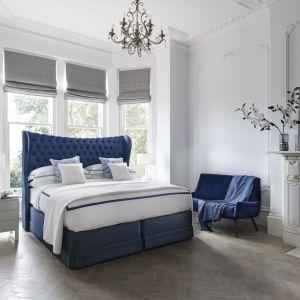 Mimo rosnącej popularności, nowoczesny minimalizm i skandynawska prostota nie zepchnęły stylu glamour na dalszy plan. Fot. Hypnos Beds