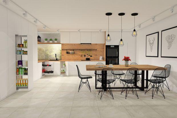 Szuflady dolne to rozwiązanie nie tylko wygodne, ale i praktyczne. Pozwolą maksymalnie wykorzystać kubaturę szafki i ułatwią codzienną pracę w kuchni.