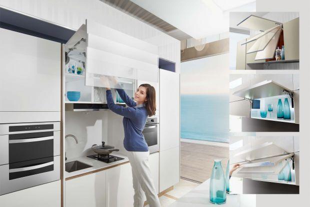 Wymieniając meble kuchenne, warto zwrócić uwagę na takie elementy, jak zawiasy i podnośniki. Dlaczego? Nie tylko zapewniają nam komfort obsługi szafek i szuflad, ale również pozwalają zachować w kuchni… ciszę.