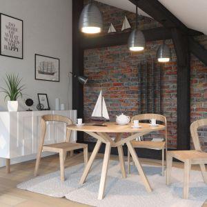 Drewniany stół Fortel. Fot. Rosanero/Anders Meble