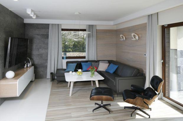 Salon w szarościach - zobacz 25 projektów polskich architektów!