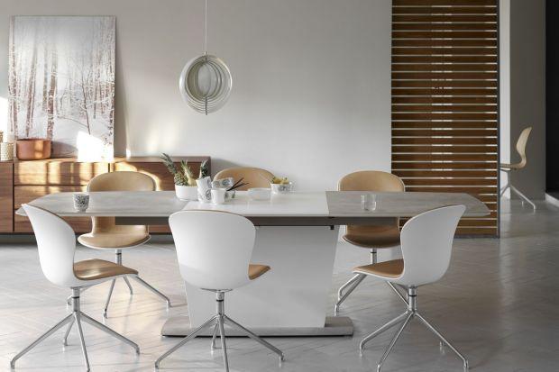 Białe meble do salonu i jadalni - aktualne trendy wzornicze