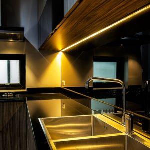 Oświetlenie zastosowane w zabudowie kuchennej. Fot. GTV