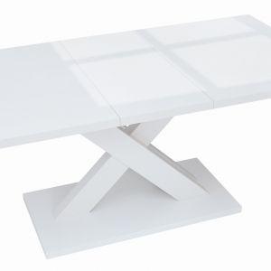 Stół Hanx, w białym połysku. Fot. BRW