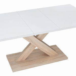 Rozkładany stół Travers, na kolumnie. Fot. BRW