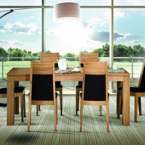 Stół do jadalni z kolekcji T7 marki Klose, z systemem rozkładania Tafelrunde. Fot. Klose