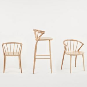 "Krzesła z kolekcji ""Sudoku"" firmy Paged. Fot. Paged"