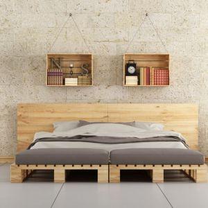 """Sypialnia - styl loftowy w """"ocieplonej"""" wersji. Fot. Fabryka Materacy Janpol"""