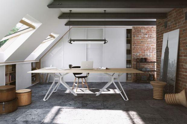 Jak zaprojektować pracownię lub biuro na poddaszu?