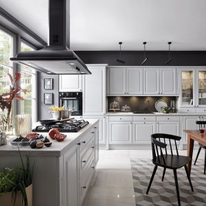 Kuchnia z serii Senso Kitchens. Fot. Black Red White