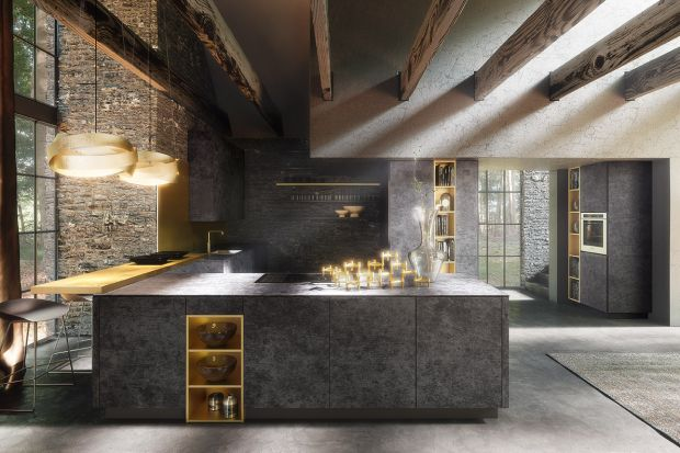 Duża przestrzeń to prawdziwe pole do popisu dla projektanta kuchni. Warto wykorzystać każdy metr kwadratowy, by stworzyć funkcjonalne i estetyczne wnętrze - niemal bez żadnych ograniczeń!