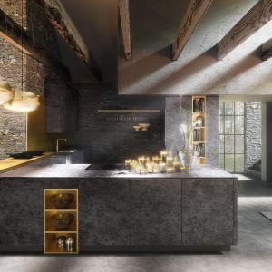 Zabudowa kuchenna w stylu loftowym. Fot. Alno