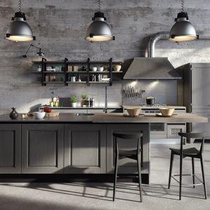 Szara kuchnia Bellagio. Fot. Aran