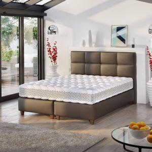 """Łóżko tapicerowane """"Isabel"""" marki Comforteo. Fot. Comforteo"""