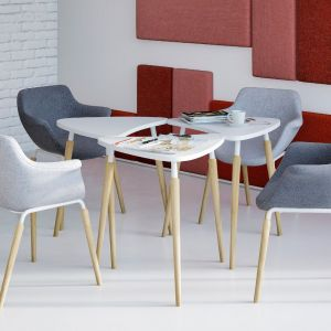 Krzesła z kolekcji Tauko Grupy Nowy Styl. Dystrybucja: Everspace. Fot. Grupa Nowy Styl
