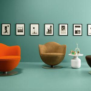"""Fotele """"Dalia"""" firmy Cappellini. Projekt: Marcel Wanders. Fot. Cappellini"""