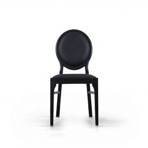 "Krzesło ""Nero"" marki Rosanero (Anders Meble). Fot. Anders Meble"