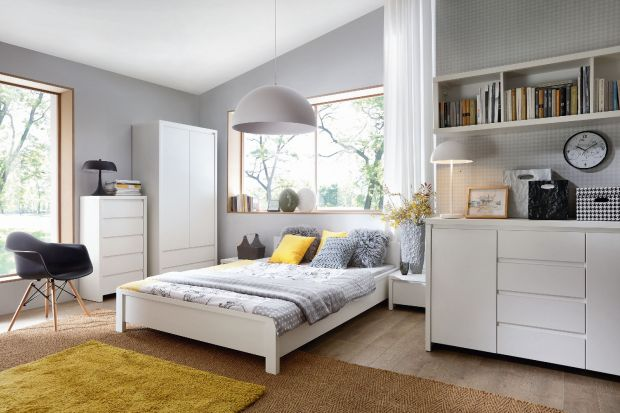 Sypialnia to dobre miejsce na przechowywanie niewielkiej ilości książek - tylu, ilu potrzebujemy, aby wybrać coś ciekawego do przeczytania przed snem. Jak zaaranżować minibiblioteczkę przy łóżku?