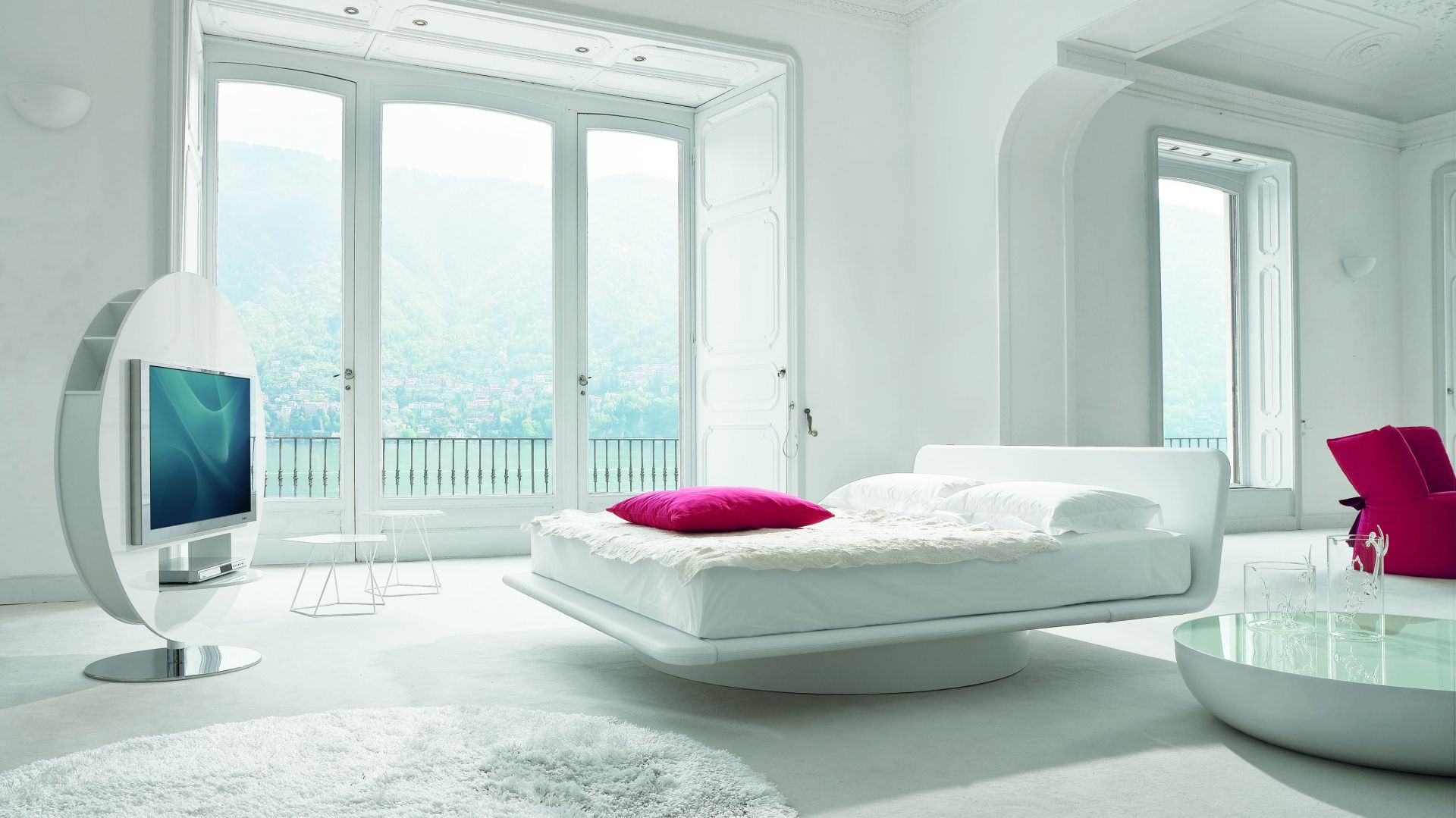 Łóżko Giotto Vision. Fot. Bonaldo