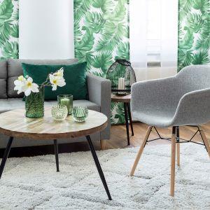 "Krzesła ""Sogo light grey"". Fot. Dekoria.pl"