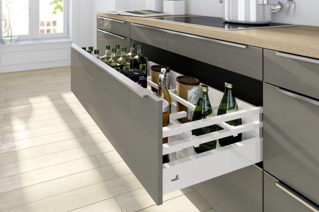Strefa do przechowywania zapasów w kuchni - jak ją zorganizować?