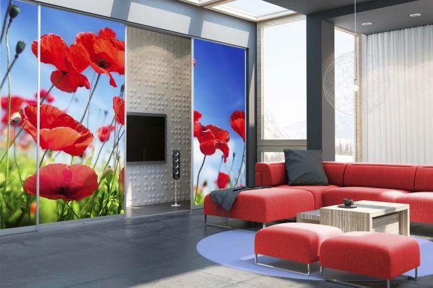 Szafy z drzwiami przesuwnymi są nie tylko bardzo użytecznymi meblami, mogą być też prawdziwą ozdobą wnętrza. Wszystko dzięki wypełnieniom drzwi, utrzymanym w różnorodnych kolorach bądź zdobionych fantazyjnymi wzorami.