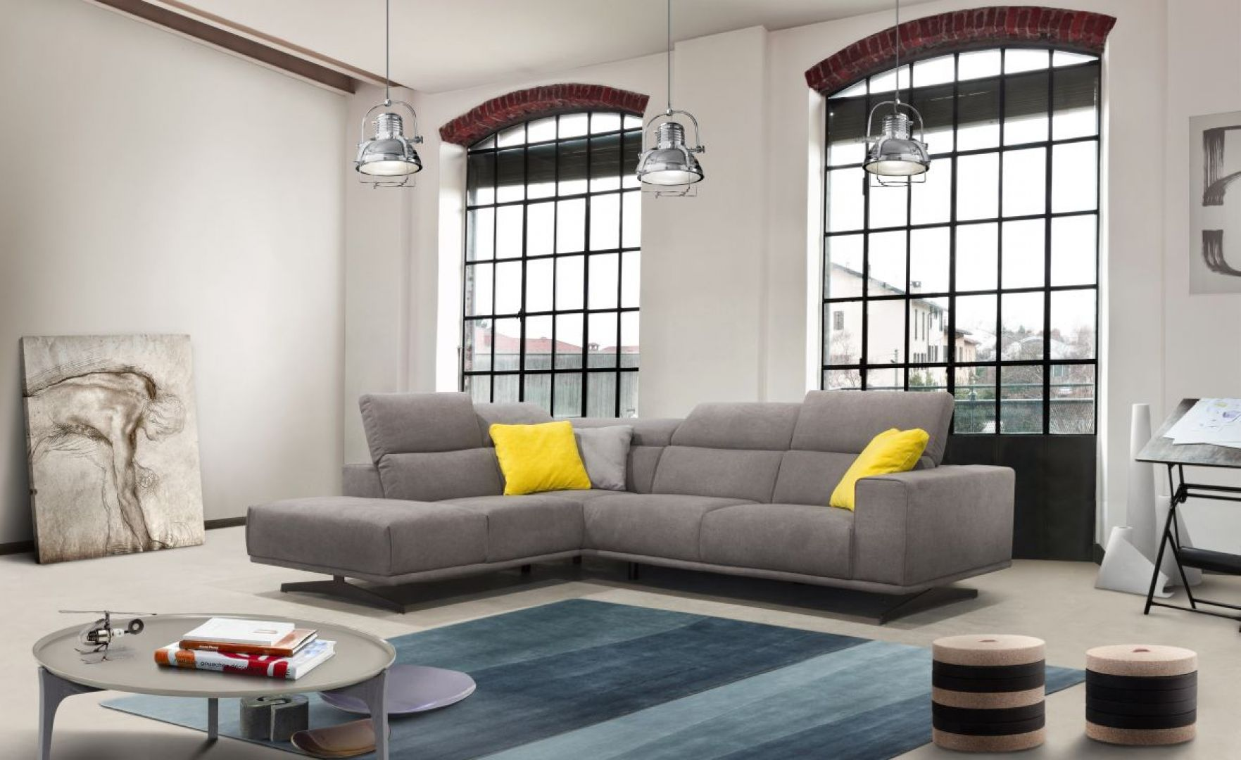 """Zestaw """"Elliot"""" firmy Poldem – połączenie eleganckiej formy i nowoczesności wyrażającej się wielością zastosowanych funkcji. Fot. Poldem"""