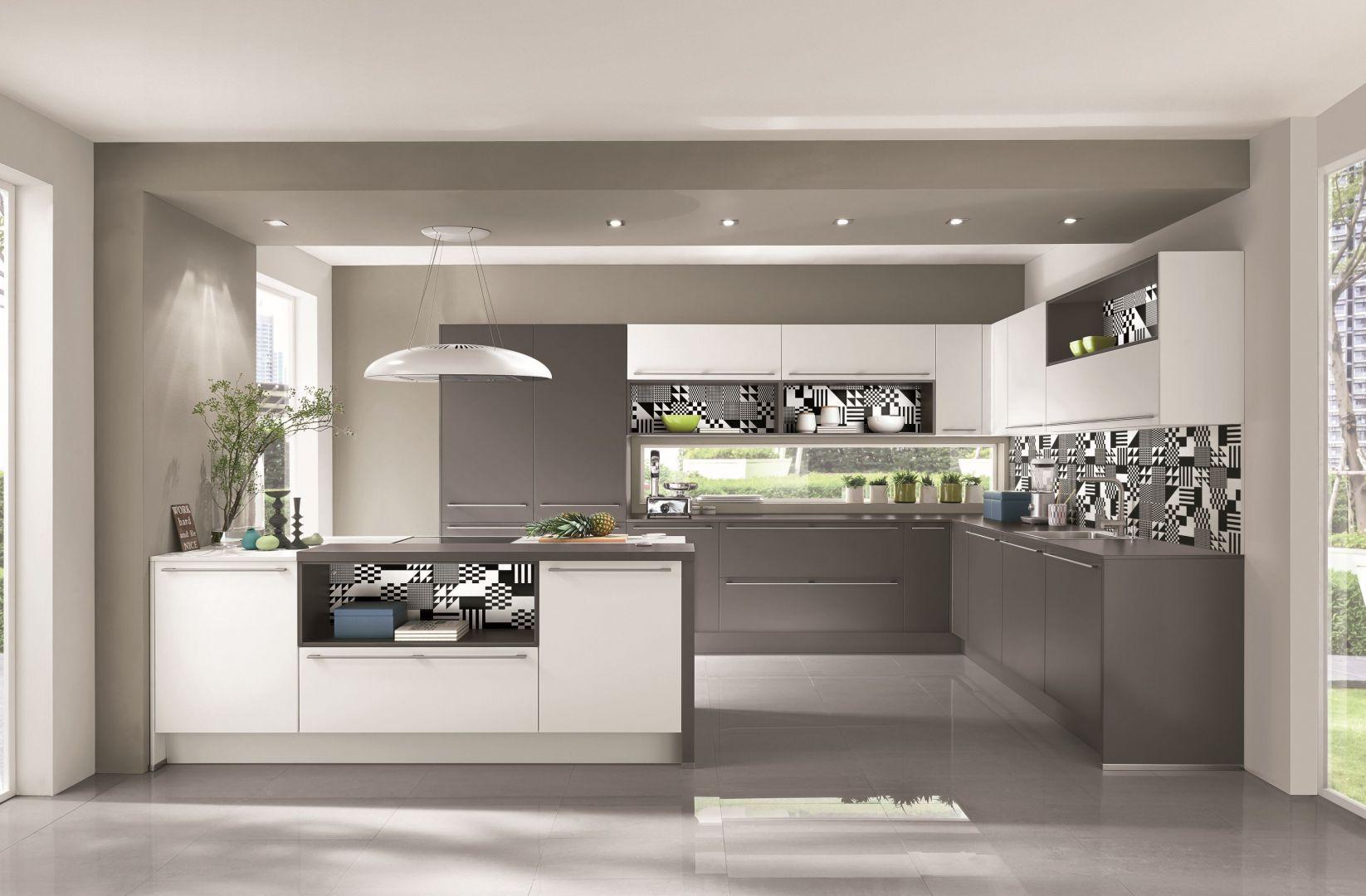 Kuchnia z wyspą - model firmy Nobilia. Fot. Nobilia