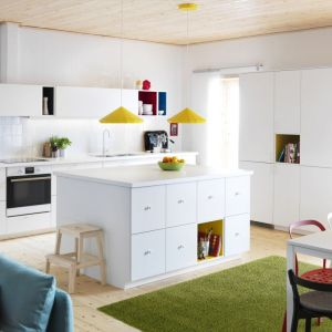 Kuchnia skandynawska - zabudowa firmy IKEA. Fot. IKEA