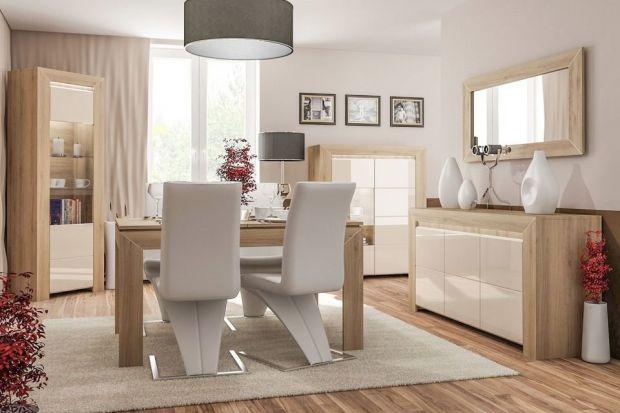 """Dwukolorowe meble to złoty środek pomiędzy stonowanym, """"bezpiecznym"""" wizerunkiem salonu a chęcią ożywienia wnętrza i urządzenia go w zgodzie z aktualnymi trendami."""