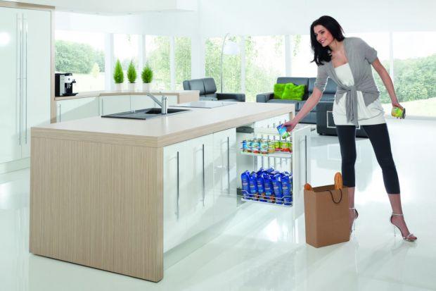 Systemy elektrycznego wspomagania otwierania szafek i szuflad kuchennychzapewniają nie tylkowygodę, ale i oszczędność czasu.