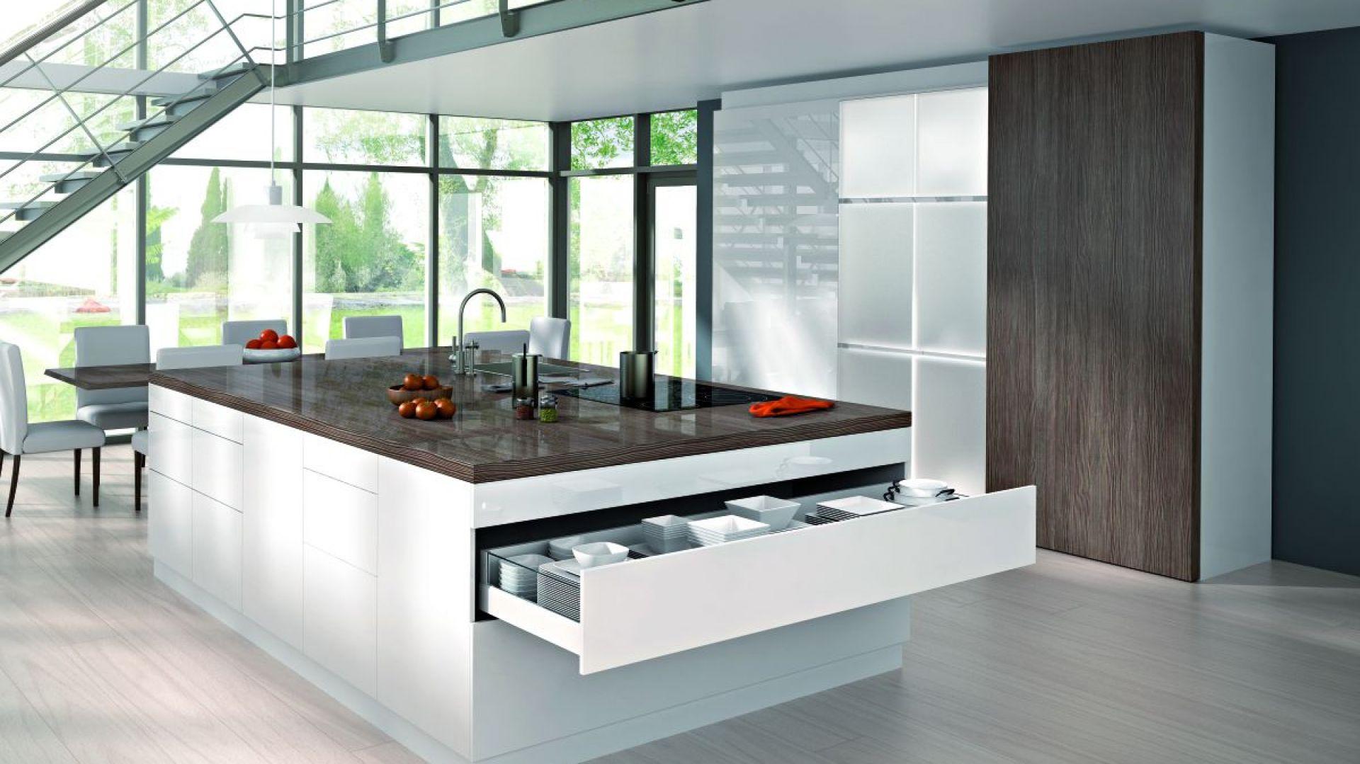 Kuchnia to nie tylko meble, ale też akcesoria, m. in. systemy szuflad. Fot. Hettich