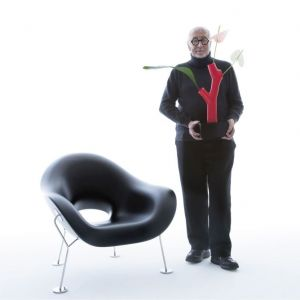 """Fotel """"Pupa"""" marki Qeeboo. Projekt: Andrea Branzi. Fot. Qeeboo"""