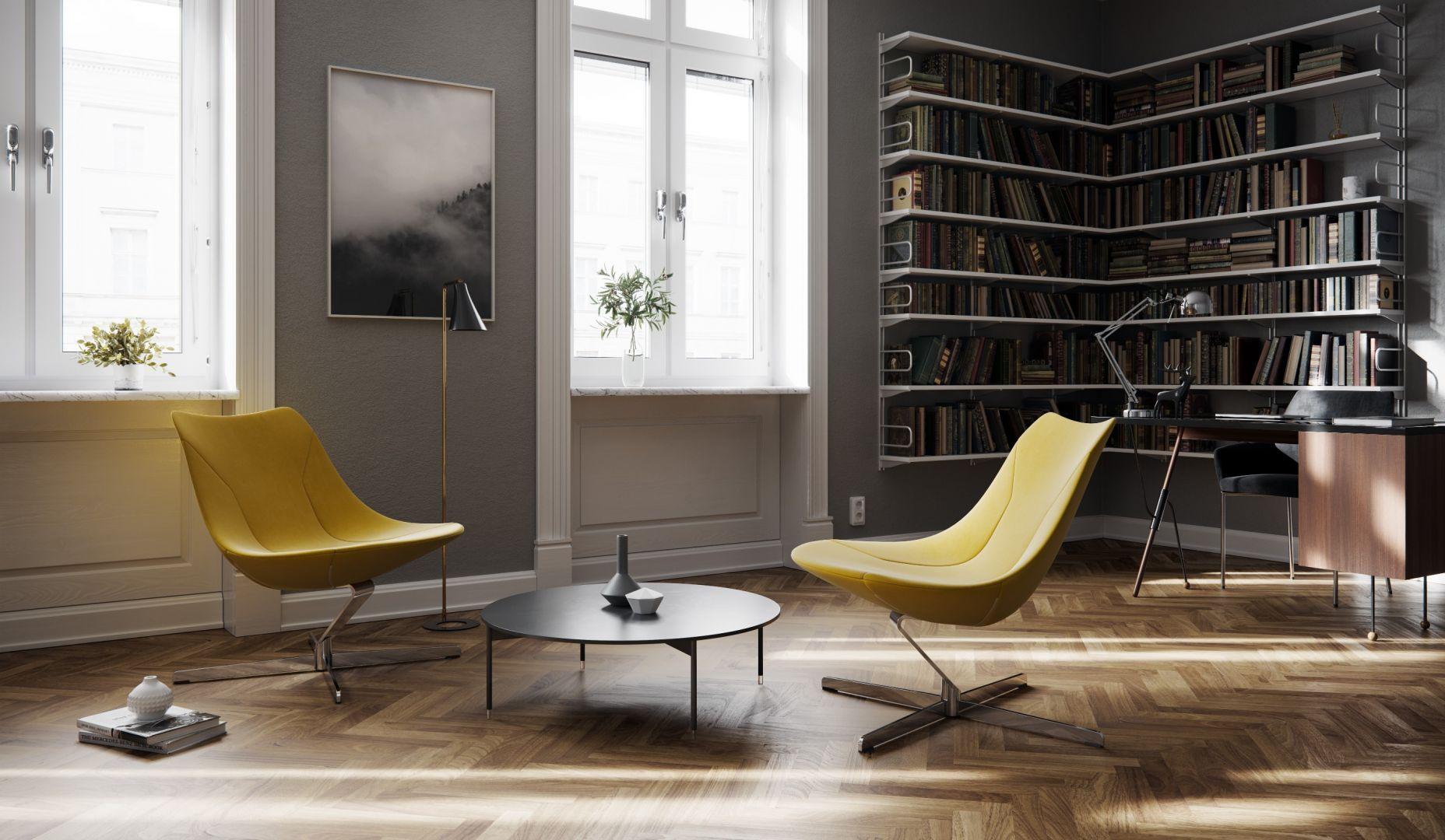 Fotele z kolekcji Chic Lounge firmy Profim. Projekt: Christophe Pillet. Fot. Profim