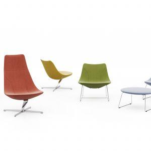 """Fotele z kolekcji """"Chic Lounge"""" firmy Profim. Projekt: Christophe Pillet. Fot. Profim"""