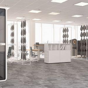 """Kabiny z serii """"Hush Phone"""" firmy Mikomax Smart Office. Fot. Mikomax Smart Office"""