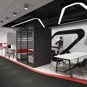 "Kabiny z serii ""Hush Meet"" firmy Mikomax Smart Office. Fot. Mikomax Smart Office"