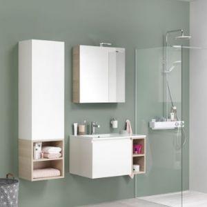 Otwarte półki w kolekcji mebli łazienkowych marki Sealskin. Fot. Sealskin