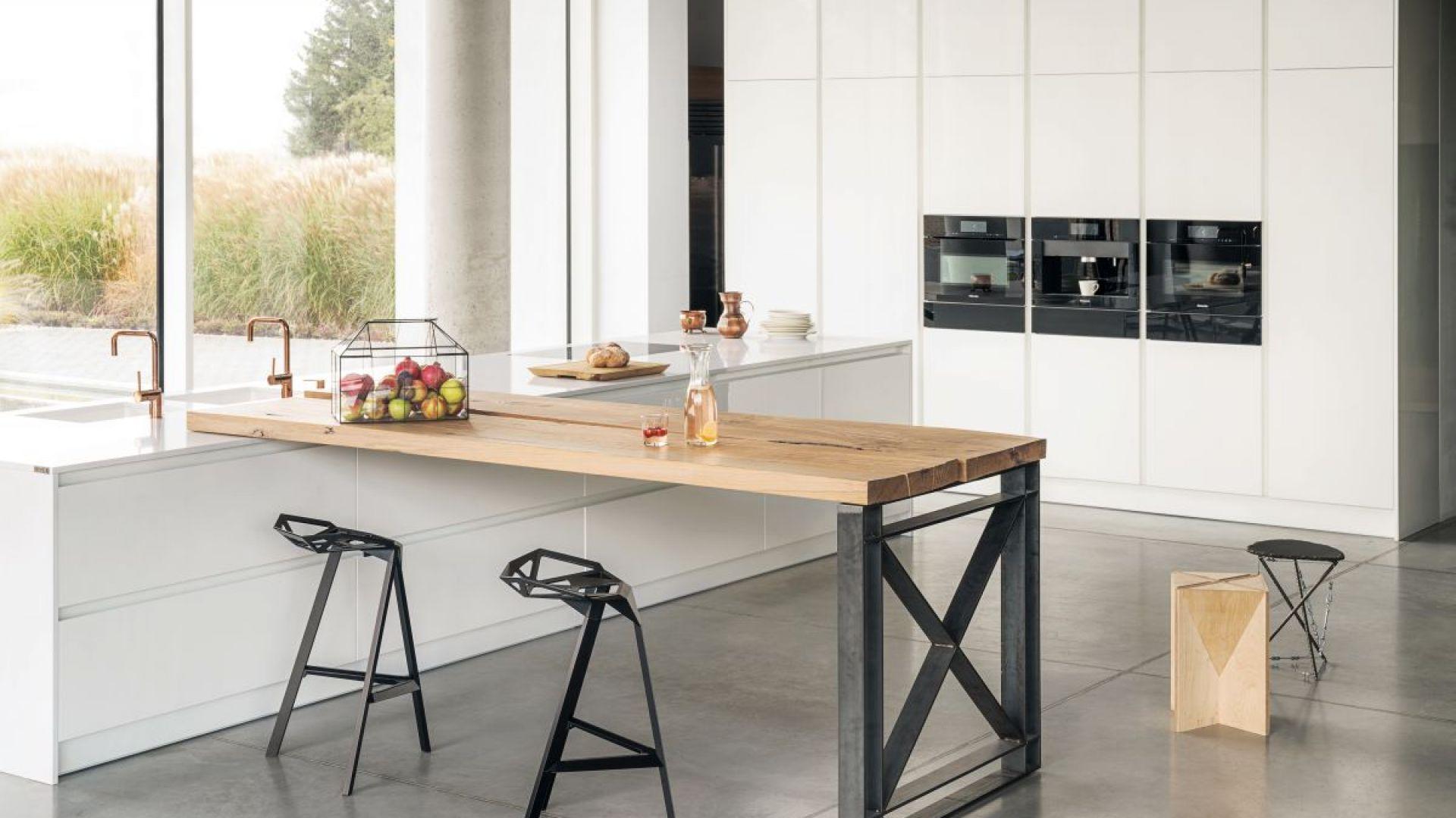 Kuchnia w stylu loftowym - model Z1 marki Zajc. Fot. Zajc