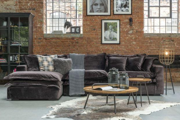 """Kolekcja """"Modern Loft"""" nawiązuje do postindustrialnych przestrzeni. To prosty design, połączony z dodatkami wnoszącymi do wnętrza elementy stylu glamour."""