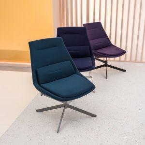 """Fotele """"Frank"""" firmy MDD. Projekt: Krystian Kowalski. Fot. Ernest Winczyk/MDD"""