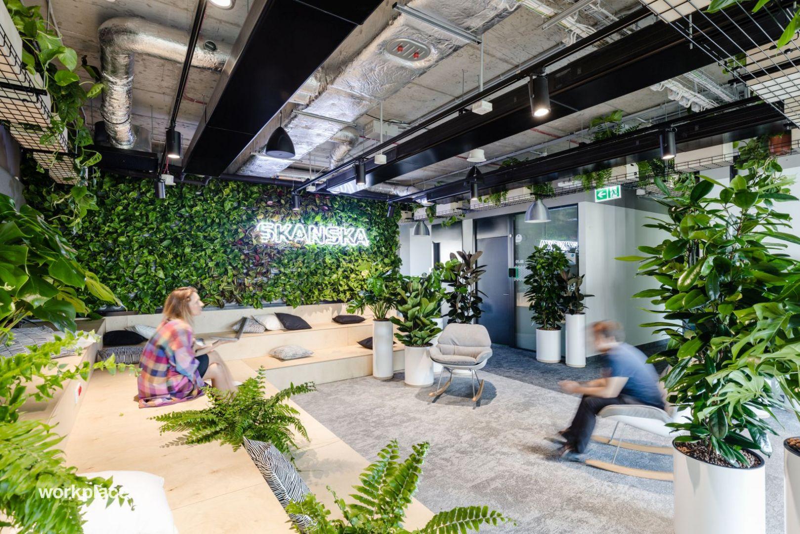 Biuro firmy Skanska. Fot. Workplace Solutions