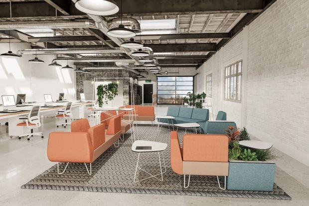 Jak prezentuje się kolorystyczny hit na meblach biurowych?