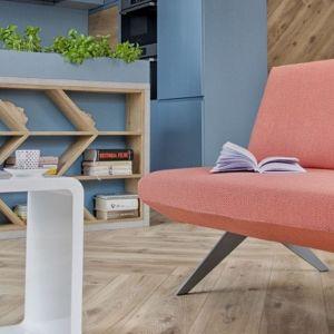 Sofa LCD firmy Noti. Projekt: Renata Karalus. Fot. Noti